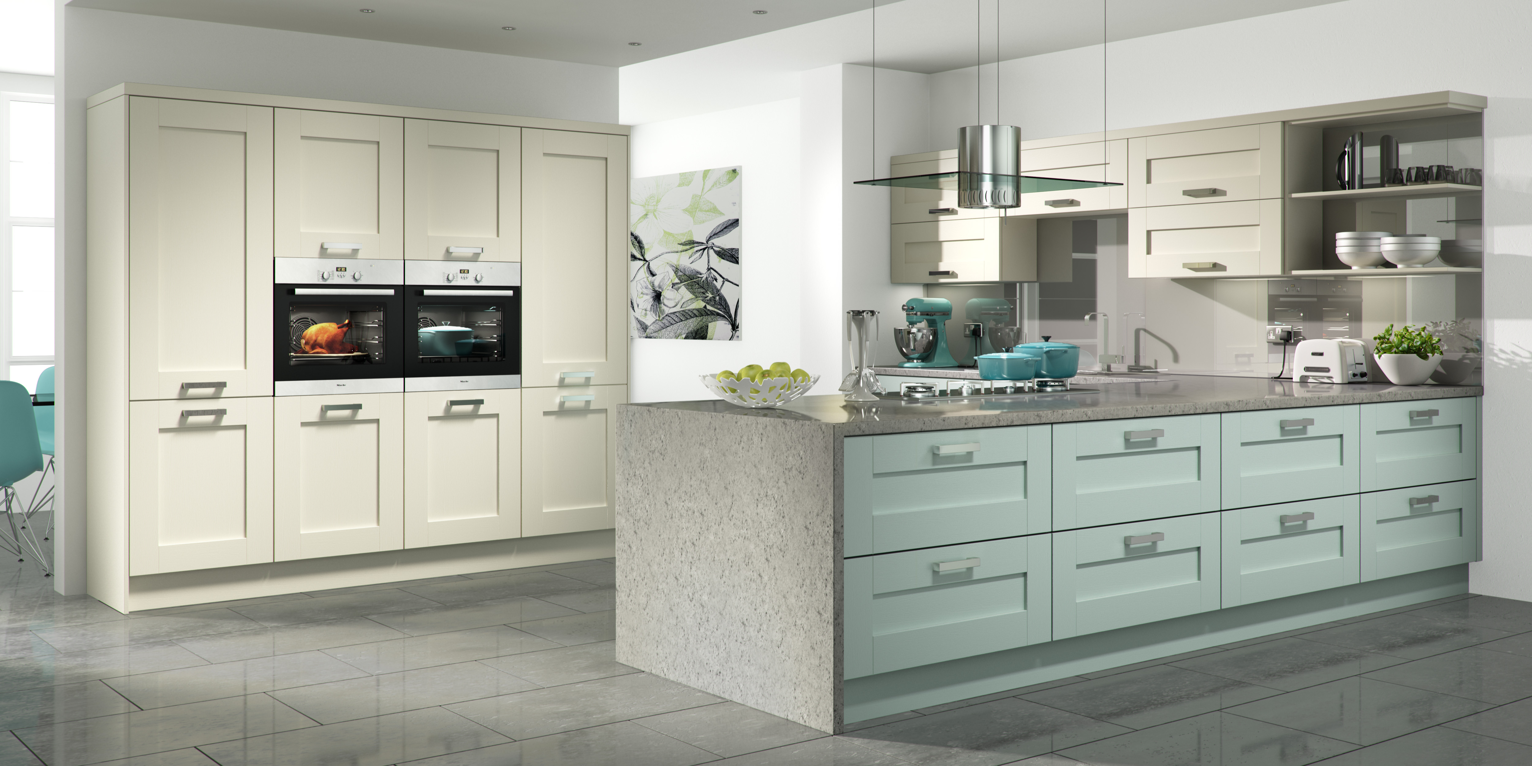 Painted range brookwood kitchens for Brookwood kitchen cabinets